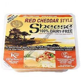 Queso Vegano Cheddar Rojo, 227g Bute Island