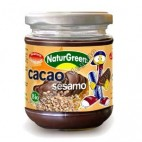 Crema de Cacao y Sésamo, 200g Naturgreen
