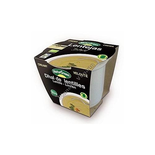 Crema de Lentejas Dhal en tarrina de 310 g - Naturgreen
