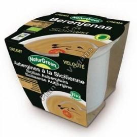 Crema de Berenjenas a la Siciliana en tarrina de 310 g - Naturgreen