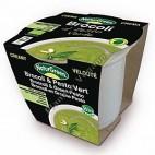 Crema de Brocolí al Pesto Verde en tarrina de 310 g - Naturgreen