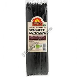 Espagueti de Espelta con Algas, 250g. Biográ