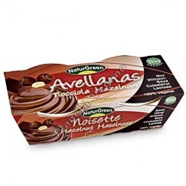 Postre de Avellana con Cacao, 2 x 125 g. Naturgreen