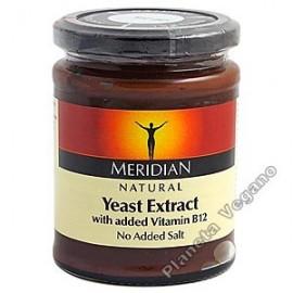 Extracto de Levadura con Vitamina B12, 340g. Meridian