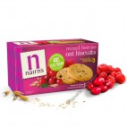 Galletas de Avena Integral con Frutos Rojos, 200g Nairns