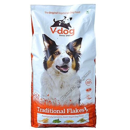 Pienso Vegano V-Dog Traditional Flakes 15kg