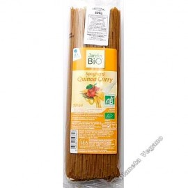 Espagueti con Quinoa, Curry y Cúrcuma, 500g Jardin Bio