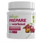 Prepare Pre-Workout - Pre-Entrenamiento sabor frambuesa/cereza, 200g beVegan