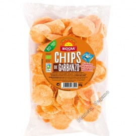 Chips de Garbanzo, 80 g. Biográ