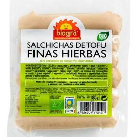 Salchichas de Tofu con Finas Hierbas, 185 g Biográ