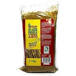 Panela Molida Ecológica de Comercio Justo, 1 kg.