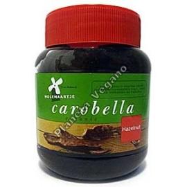 Carobella Crema de Algarroba con Avellanas y harina de altramuz. 350 g Molen Aartje
