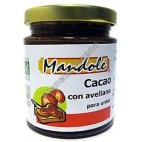 Crema de Cacao con Avellana. 275g. Mandolé