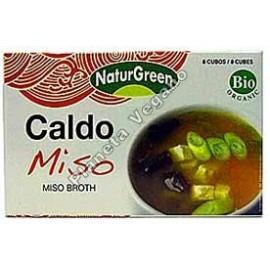 Caldo con Miso en Cubitos 84 g. - Naturgreen