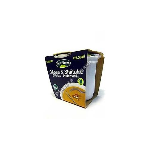 Crema de Boletus y Shiitake Tamari en tarrina de 310 g - Naturgreen