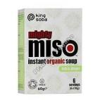 Sopa de Miso con Tofu y Jengibre 60 g. King Soba