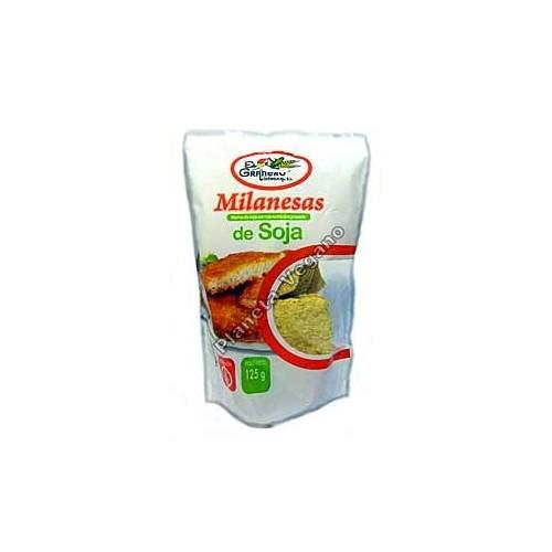 Milanesas de Soja, 125 g. El Granero