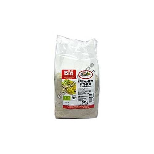 Harina integral de teff Bio, 500g. El Granero