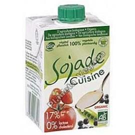 Nata para cocinar de Soja, 200 ml. Sojade