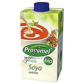 Nata para cocinar de Soja, 250 ml. Provamel