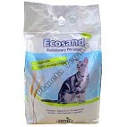 Arena Biodegradable para gatos, 3 kg. Ecosand