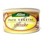 Paté con Shitake, 125g. Allos