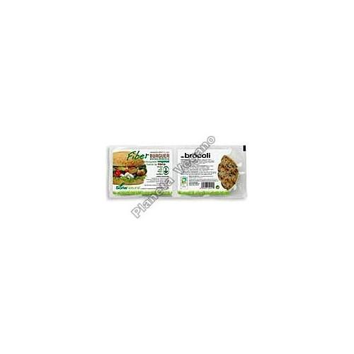 Fiber Burger con Brócoli, 200g. Soria Natural