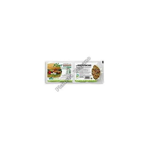 Fiber Burger con Espinacas, 200g. Soria Natural