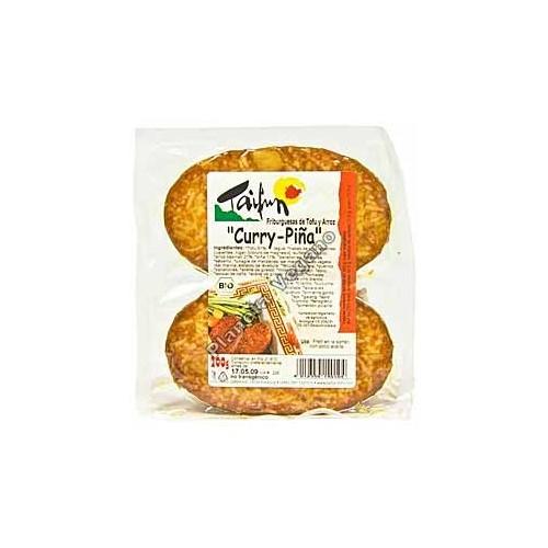 Friburguesa de Tofu con Piña y Curry, 200g Taifun