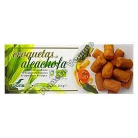 Croquetas de alcachofa, 250g. Soria Natural