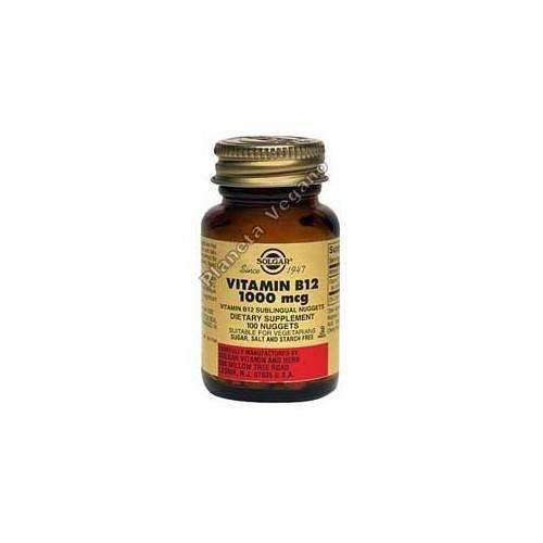 Vitamina B12 1000 μg (Cianocobalamina)