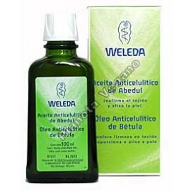 Aceite Anticelulítico de Abedul, 100 ml. Weleda