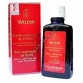Aceite Corporal de Granada Regenerador, 100 ml. Weleda
