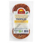 Hamburguesa Vegetal Tropical, 160 g. Biográ