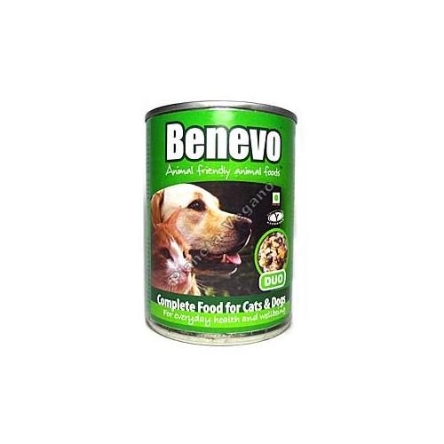 Pienso Vegano Humedo, Benevo Duo, 369 g.