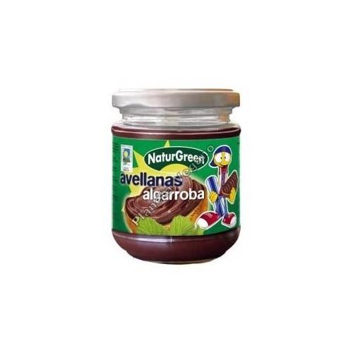 Crema de Avellanas y Algarroba, 200g Naturgreen