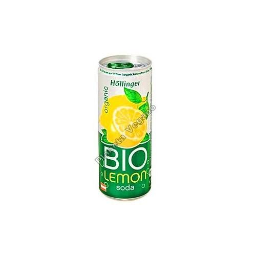 Refresco de Limón, 250 ml. Hoellinger