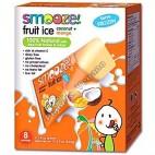 Smooze Fruit Ice, Polo de mango y coco 8x65ml.