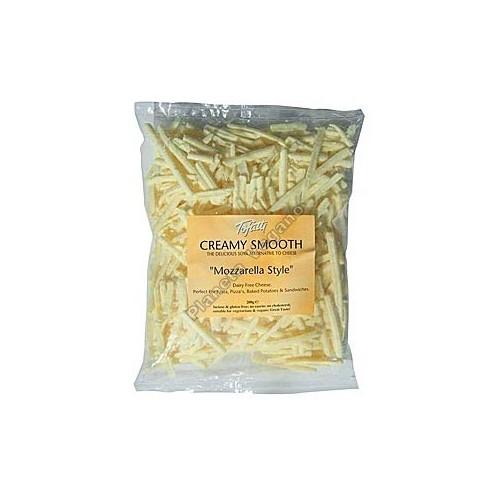 Queso Vegano Mozzarella Rallado, 200g. Tofutti