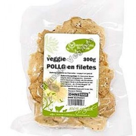 Veggie Pollo en Filetes, 300 g. V.F.
