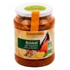Raviolis Rellenos con Verduras, 670g. Danival