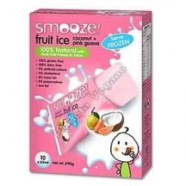 Smooze Fruit Ice, Polo de guayaba y coco 8x65ml.