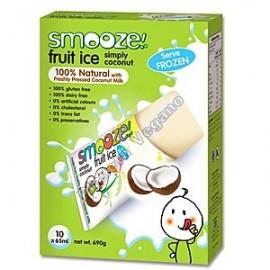 Smooze Fruit Ice, Polo de coco 8x65ml.