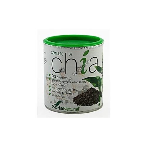 Semiilas de Chía, 250 g. Soria Natural