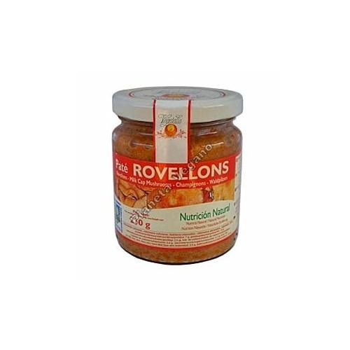 Paté Rovellons, 210g Vegetalia