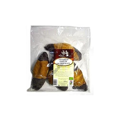 Cruasán de Espelta con Chocolate, 350g. Horno de Leña