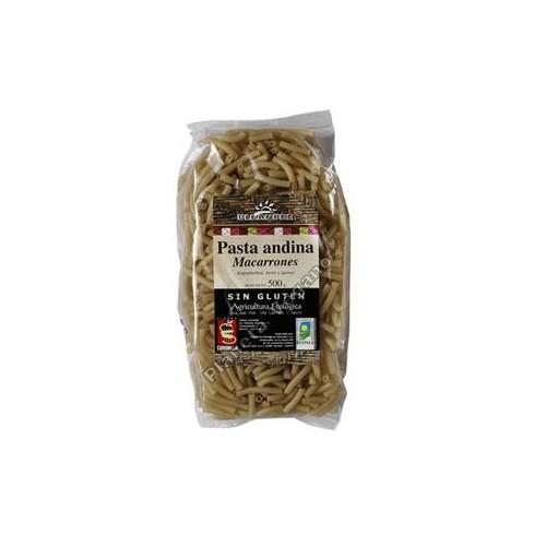 Pasta Andina Macarrones, 500g. Oleander