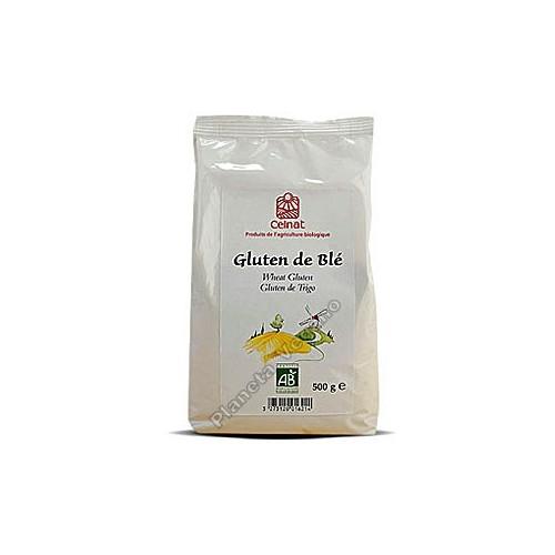 Gluten de trigo BIO, 500g. Celnat