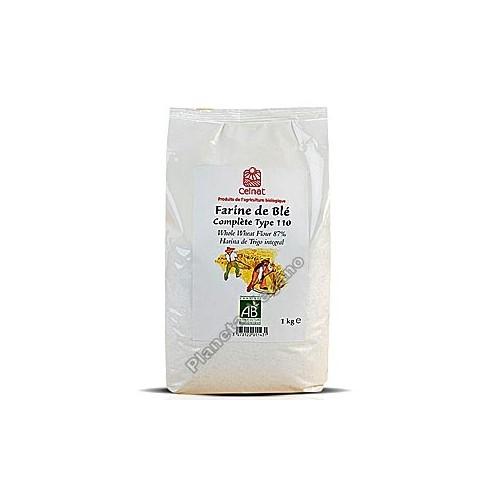 Harina de trigo semi-integral Bio 1 kg Celnat