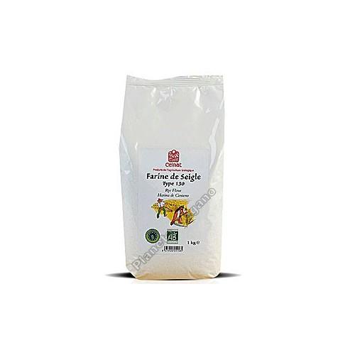 Harina de centeno integral Bio, 1 kg Celnat
